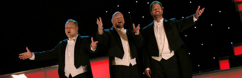 3 redneck tenors singing background slider